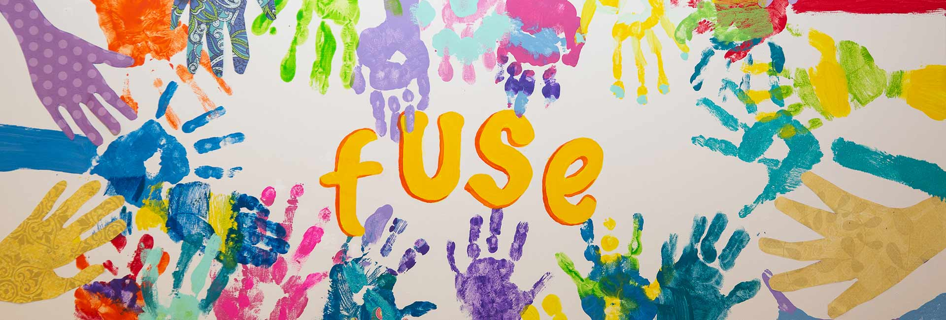fuse hand painting